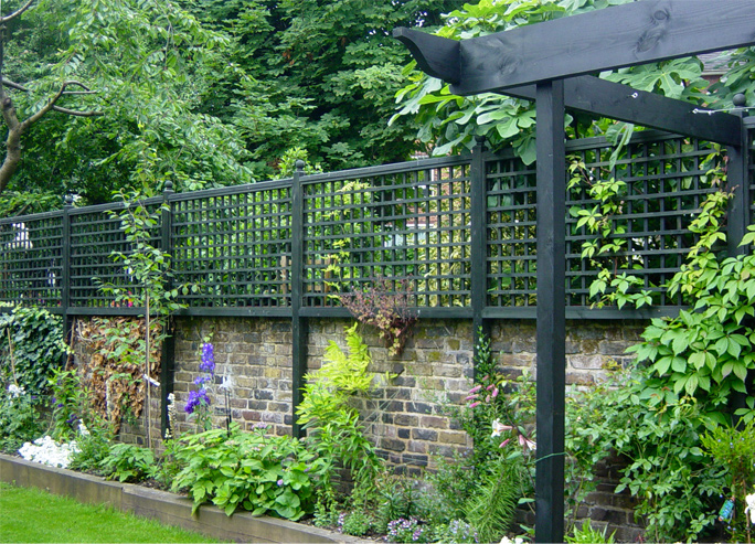 Contemporary amp Traditional Trellis Horizontal